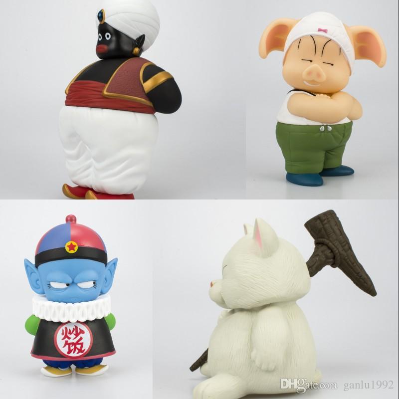 Dragon Ball Series Comic Garage Kit Doll Oolong Popo Cat Karin Pilaf Lifelike Action Figure Toys Ornament Anime Model 29 9ry WW