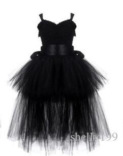 Cute Baby Girls Tutu Dress Ctess Party Dresses Dzieci Girls Dance Tutus Pettiskirt Dresses Girls DanceWea Costume