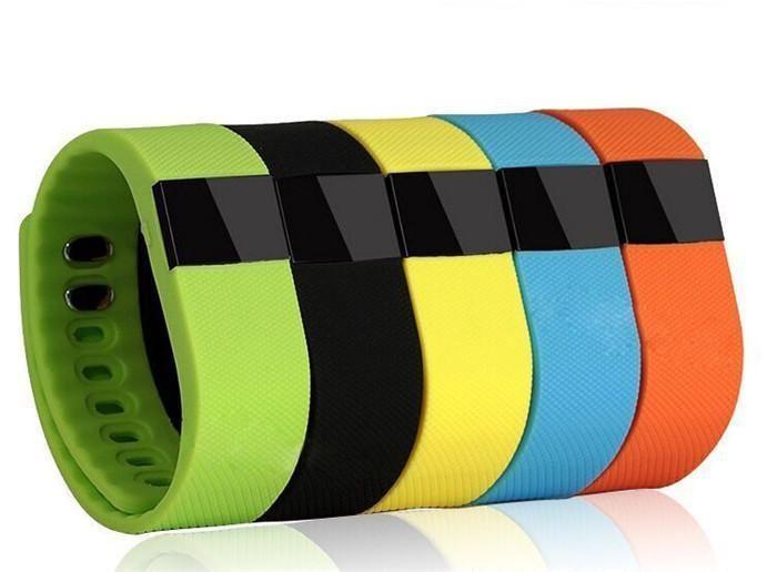 TW64 جديد 12 لون معصمه Smart Band Fitness Activity Tracker Bluetooth 4.0 سوار Smartband الرياضي لهاتف Android IOS