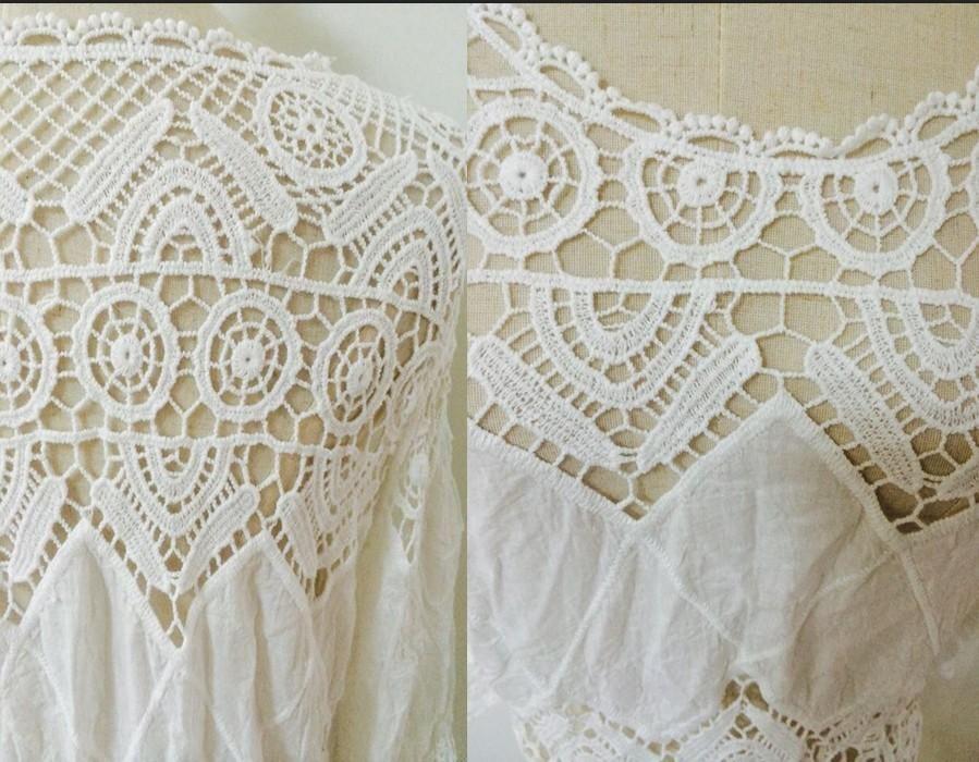Compre Las Mujeres De Verano Beach Wear Crochet Túnicas Vestidos De ...