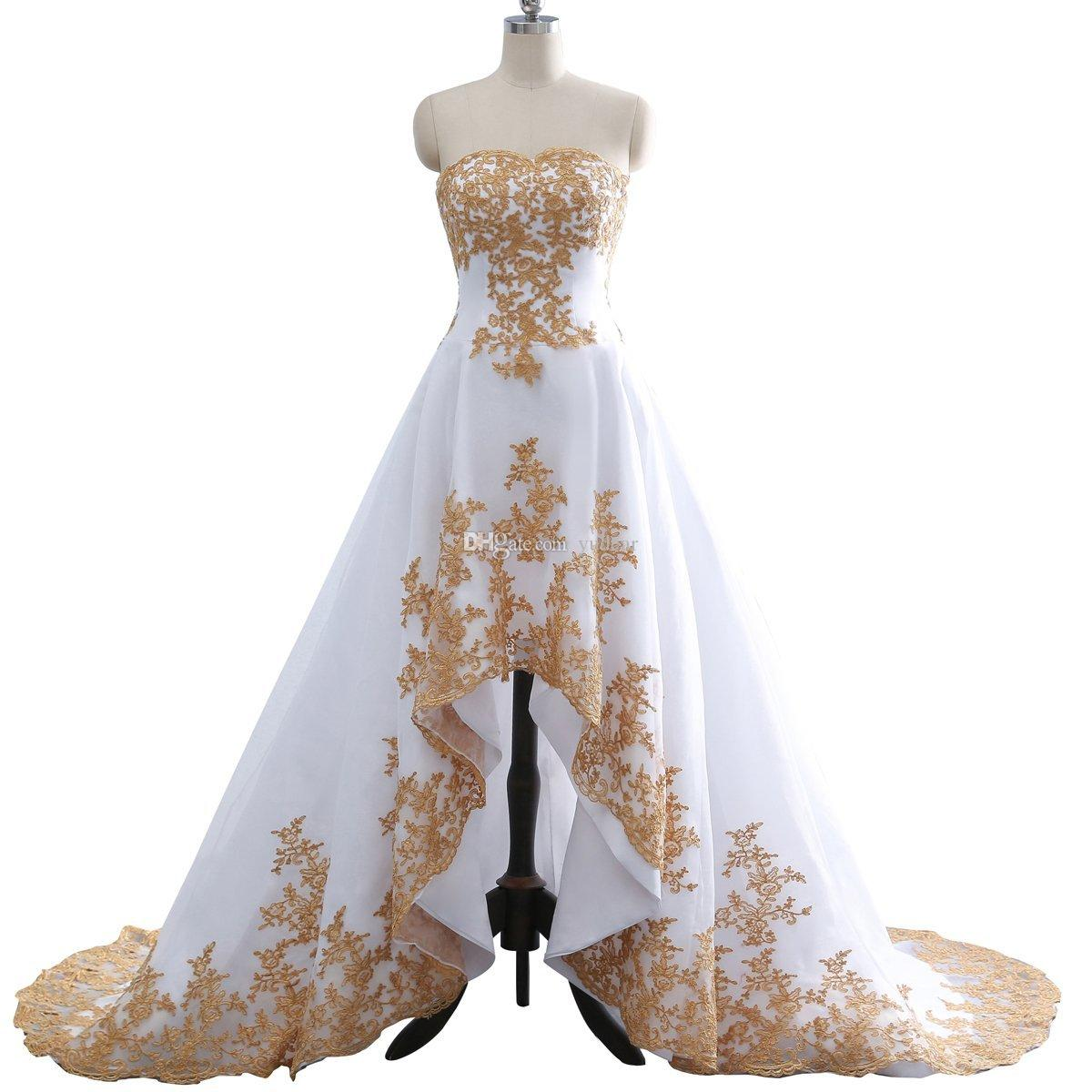 2019 New Sexy Sweetheart A-line Hi-Lo Evening Dresses Flowy Chiffon Celebrity Gowns Colorful Appliques Lace Up Dresses for Banquets