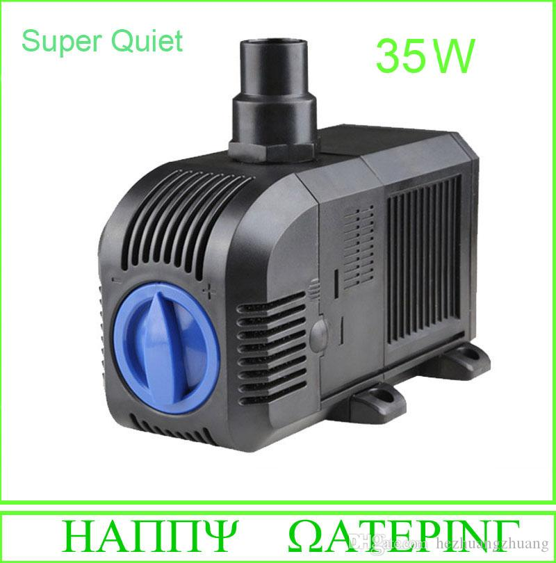 High Efficiency 35W Small Submersible Pond Water Pump 220V for Fish Tank Pond Fountain 2000L/H Flow Max