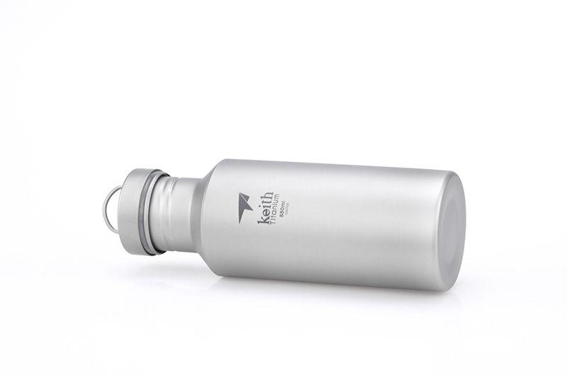 Keith Ti Titanium Tool bouteille de sport en plein air en titane pur tasse d'eau potable portable en titane pot pour alpinisme en pot Ultralight 96g seulement