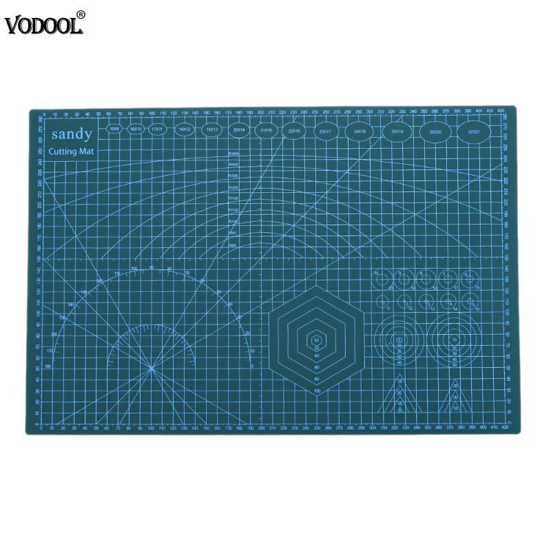 А3 ПВХ резки коврик для резки коврик лоскутное инструменты ручной пэчворк А3 Совета DIY инструмента двойная сторона