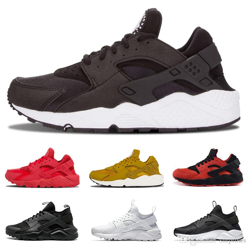 Hot Sale Huarache 4 Running Shoes For Mens Womens All White ...