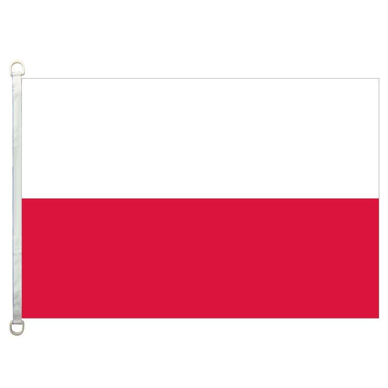 [Хороший флаг] Польша флаги баннер 3x5ft-90x150cm 100% полиэстер флаги стран, 110gsm деформация трикотажные ткани открытый флаг