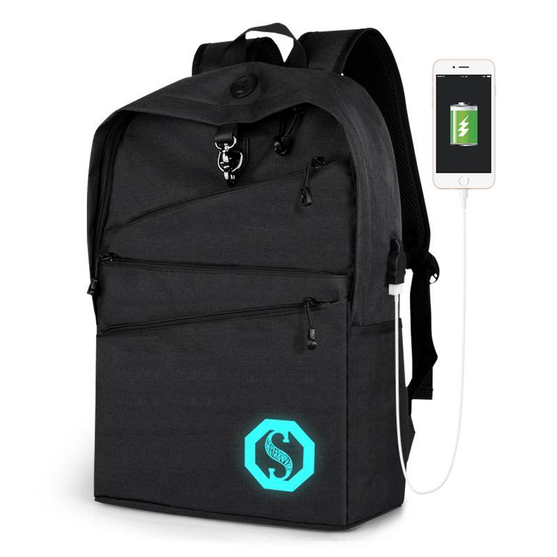 Hommes sacs à dos sacs à dos sacs à dos sac de voyage casual toile sac d'ordinateur portable de mode solide couleur école pour étudiant