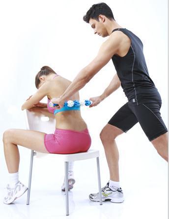 Taşınabilir masaj kasları relax masaj sopa fascia çubuk rulo dişli yavaş derin kas masaj mili