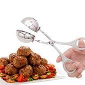Творческий Non Stick Практическая нержавеющая сталь Мясорубка Инструмент для приготовления пищи Кухонный мясной шарик-шарик Maker Perfect Kitchen Tools