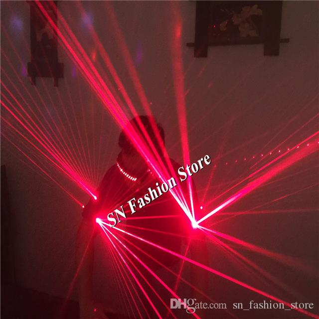 TT02 Red laser armbands 650nm Laser arms band bar party props green light costumes luminous ballroom dance laser man show projector wears dj