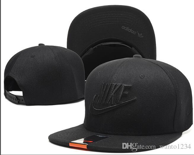 Оптовая 2018 высокое качество дизайн бренда черный Snapback Caps спорт хип-хоп кость бейсболка Сотни gorras Casquette папа шляпы для мужчин