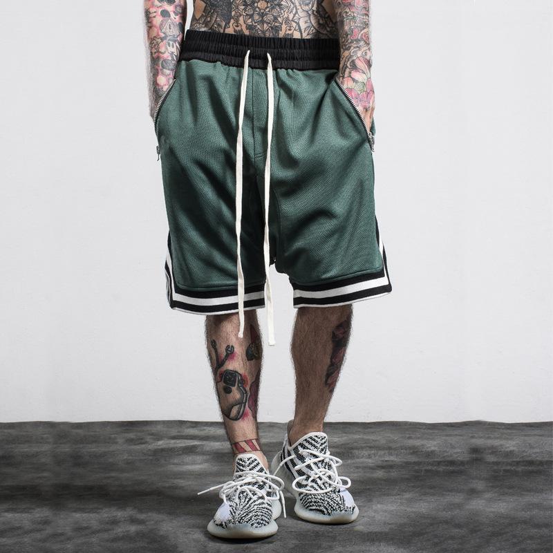 Designer Shorts Casual Men Shorts Streetwear Designer Men Shorts Fashion Loose Knee Length Men Women Pant Zipper Pocket Relaxed Style S-2XL