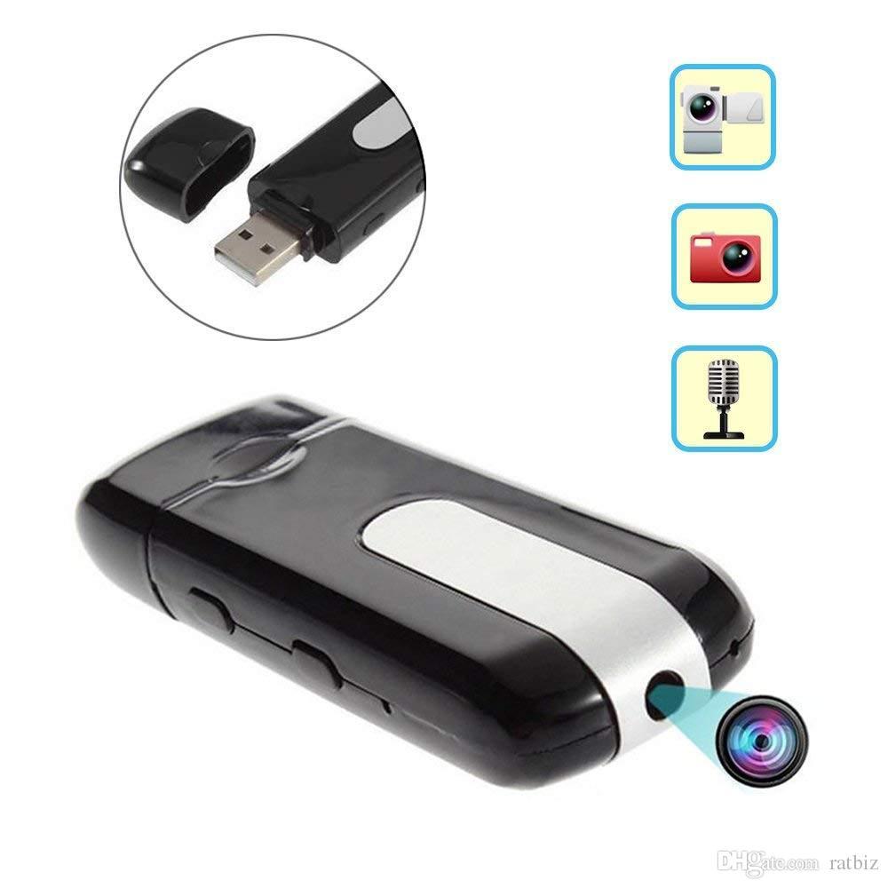 32GB memory Pen Drive Video Audio Recorder USB Flash Drive Memory Stick Motion Mini DV Camera U-Disk DVR with Motion Detection Cam PQ129