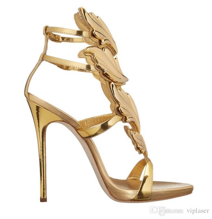 2018 Sexy Shoes Mujer High Heels Sandal Stiletto 12 CM Talones Mujeres Bombas Zapatos de boda del partido Zapatos de mujer de charol