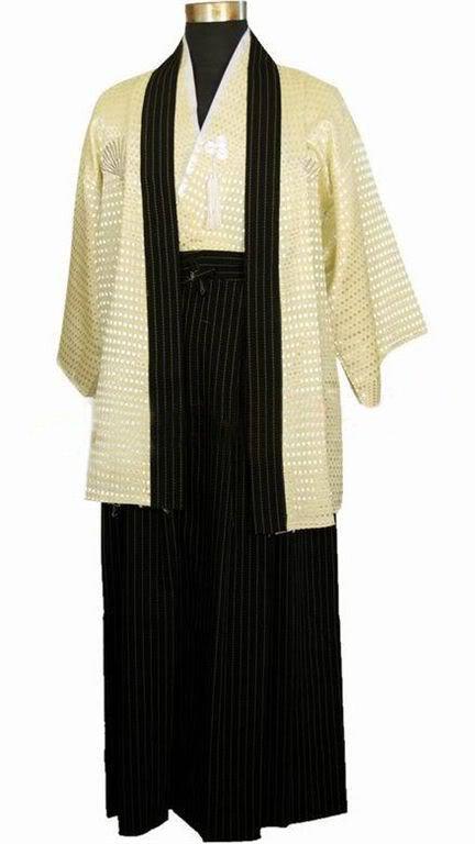 Roupa tradicional do traje do homem de Japão do quimono do fato de Yukata Cosplay