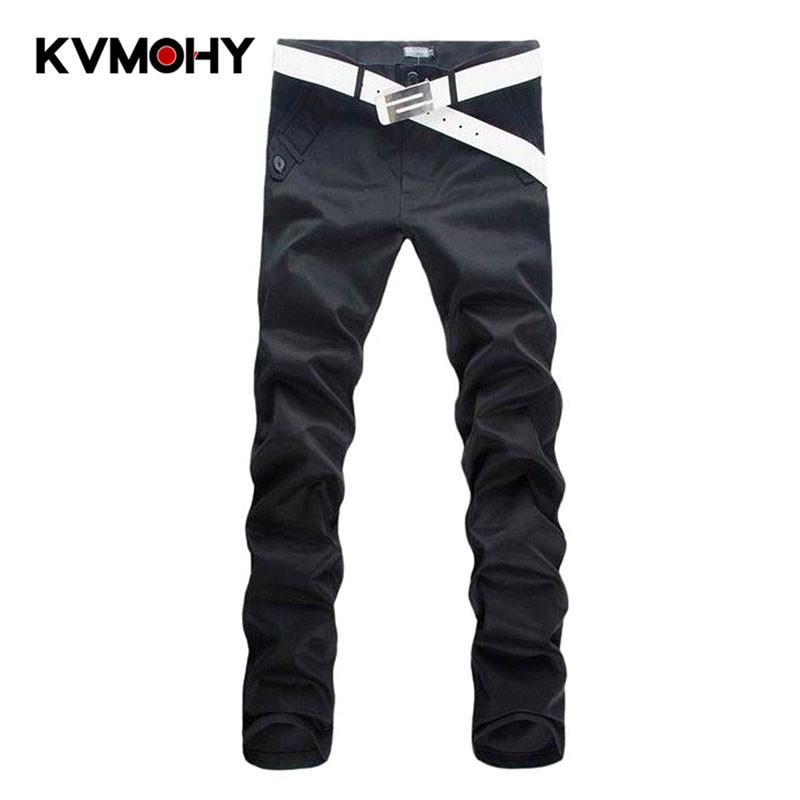Pants Men Brand Men's Casual Pantalon Homme High Quality Male Fashion Cargo Pant Trousers Mid-waist Straight Hombre Trousers