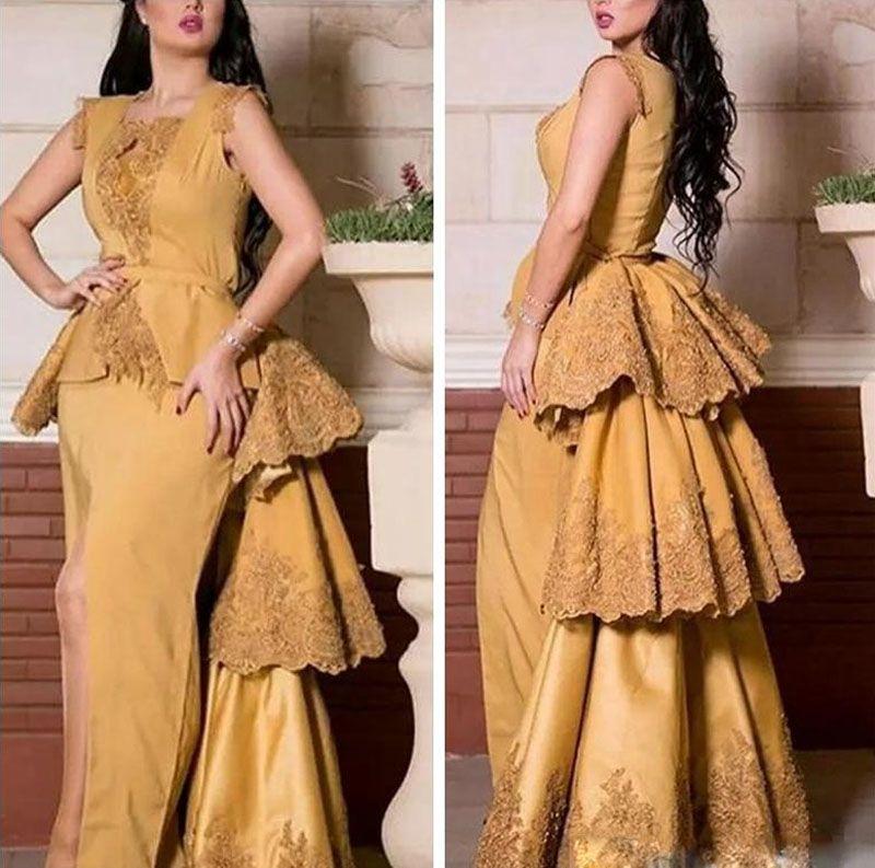 Nuovo stile elegante abito da sera in pizzo Applique su misura per le donne vestito da promenade Occasioni speciali Occasioni formali