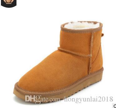 2018 New mens womens Australia Classic snow shoes winter Couple shoes fashion discount Ankle Knee shoes size 35-44