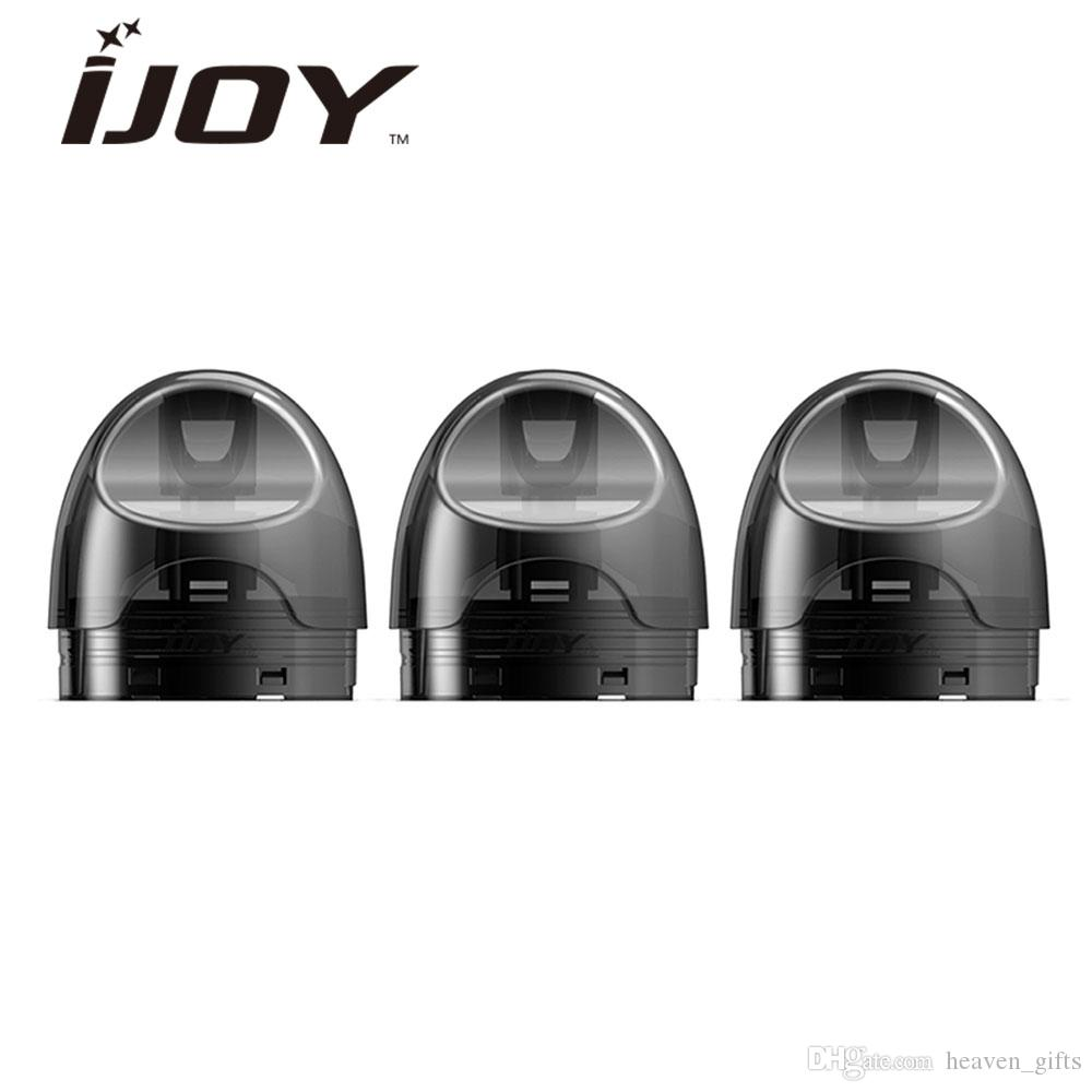 3pcs IJOY IVPC Pod Cartridge 2ml with Bottom filling system IJOY IVPC Starter Kit E cig Spare Part
