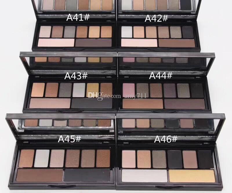 НОВЫЙ Горячий бренд палитра макияжа 8 цветов Палитра теней для век с Skinfinish 6 стилей высокое качество DHL доставка
