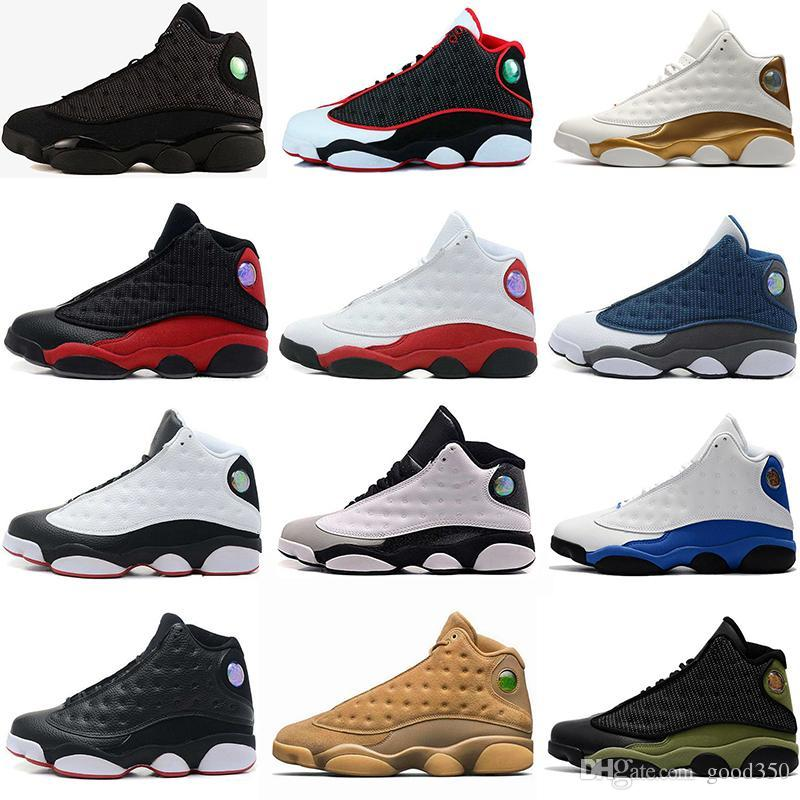 Top Quality Wholesale Cheap NEW 13 13s mens basketball shoes sneakers women Sports trainers running shoes for men designer Size 5.5-13