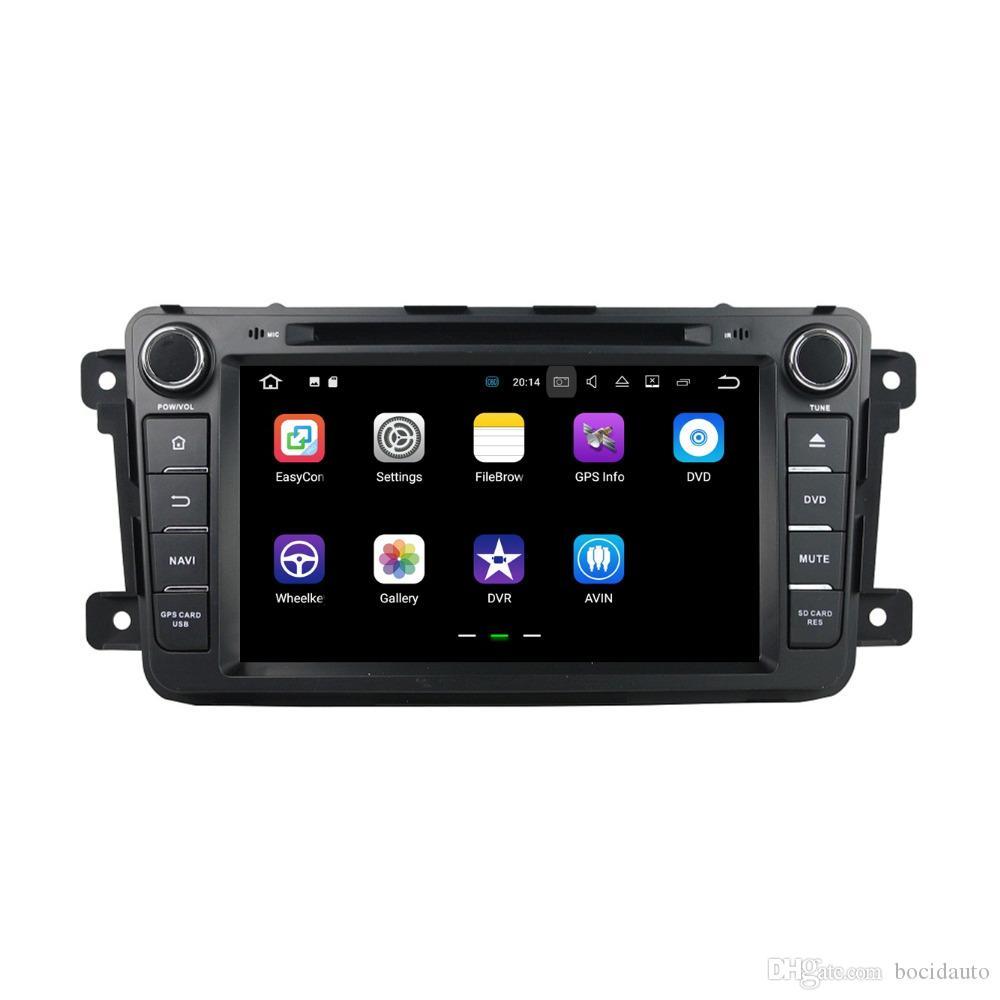 """2 الدين 7 """"الروبوت 7.1 راديو السيارة GPS رئيس وحدة الوسائط المتعددة سيارة دي في دي لمازدا CX-9 CX 9 مع 2GB RAM بلوتوث 4G WIFI مرآة رابط"""