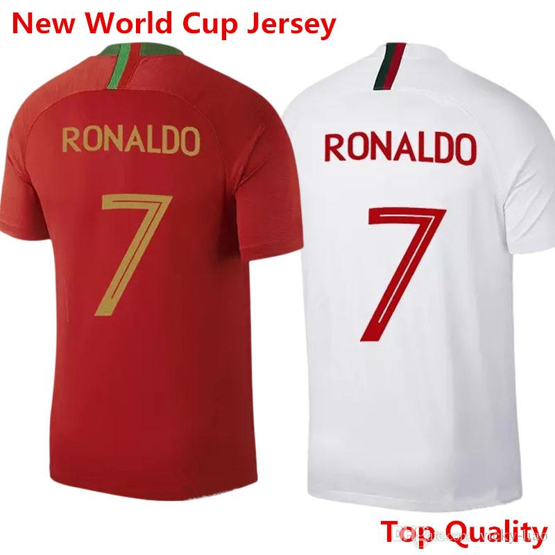 newest 6f8ef 45f5b Best 7 Ronaldo 17 Nani 2018 World Cup Jersey Soccer Shirt Football Uniforms  Home Red Away White Portugal Customized Under $13.57   Dhgate.Com
