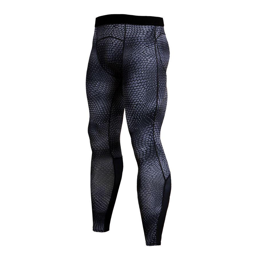 2018 Yeni Erkek Sıkıştırma Tayt Spor Skinny Tayt erkek Pantolon Nefes Iç Çamaşırı Rashguard Joggers Sweatpants Pantolon