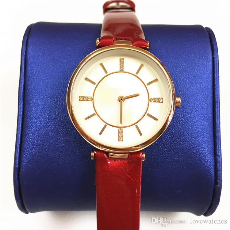 luxury top quality woman watch Genuine leather Lady Wristwatch Dress Watch jewellery ultra-light Gifts for Girls free shipping high Quality
