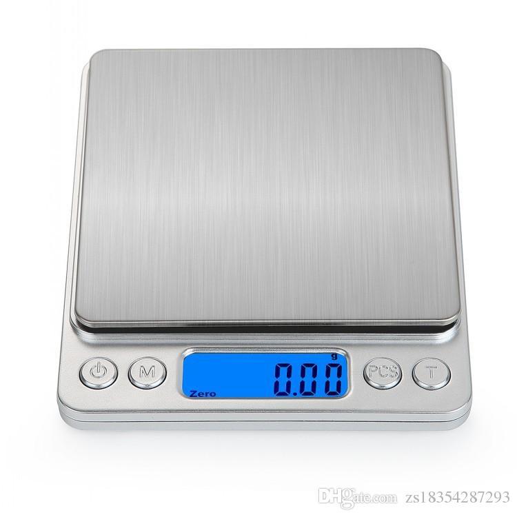 2020 neue haushalt digitalwaagen tragbare elektronische tasche lcd präzise schmuck gewicht balance küche skala werkzeuge küche zubehör