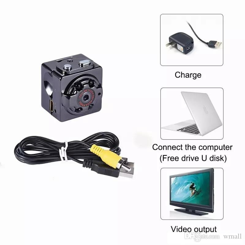 SQ8 SQ11 Full HD 1080P Night Vision Camcorder Portable Mini Micro Sport Cameras Video Recorder Cam DV Camcorder(not include TF card)