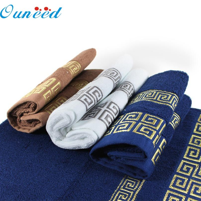 May 25 Mosunx Business 100% Cotton Solid Color towels Large Bath Sheet Bath Towel Hand Towel Face New A