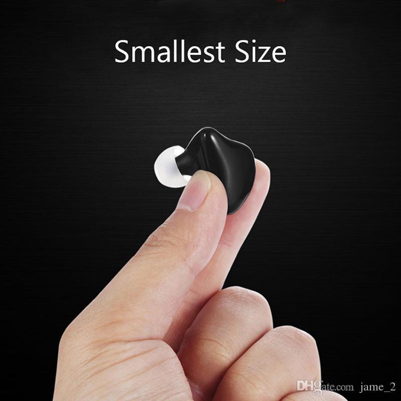 X1 Mini Wireless Bluetooth Kopfhörer Unsichtbare Ohrhörer CSR 4.1 Kleinste Musik MP3 In-Ear Headset Freisprecheinrichtung mit Mikrofon