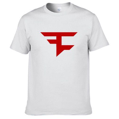 da4d2160d16d Faze Clan White T Shirt Digital Printing 201517 Cool Casual pride t shirt  men Unisex New
