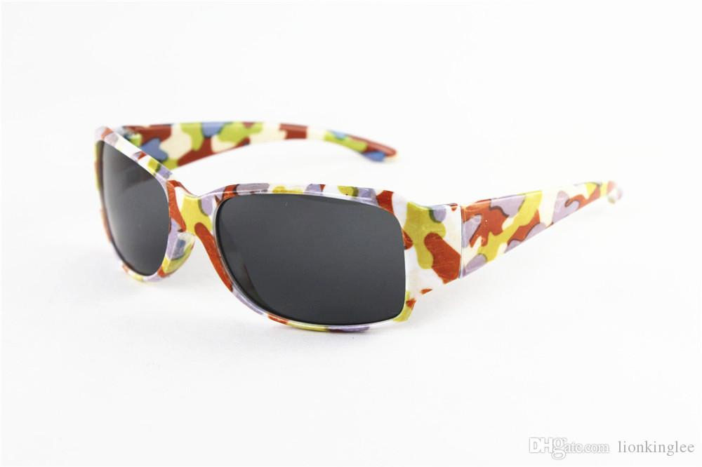 Newest Summer Kids Sports Camouflage Sunglasses Camouflage Protective Glasses Boys Girls Mossyoak Eyewear Cycling Glasses
