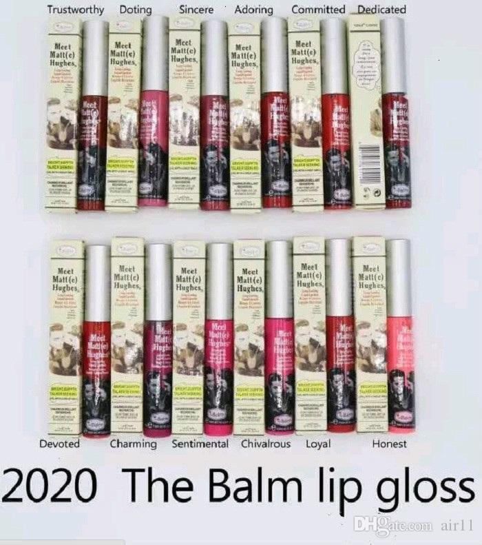 100 pcs Maquiagem Matte Lip Gloss Conheça Matt (e) Hughes Líquido de Longa Duração Batom Sexy Red Marca Não Vara Copo Lábios Vara 8 Cores