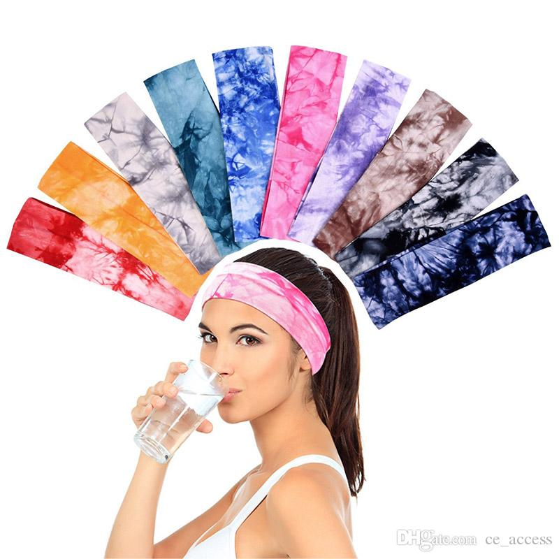Girls and Women Clode/®Stretch Elastic Yoga Cotton Headbands Various Colors for Teens