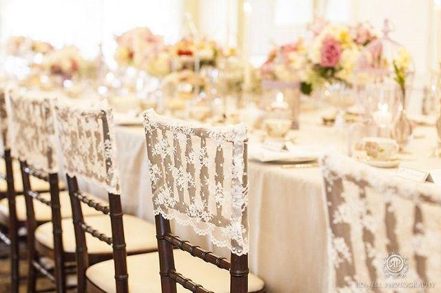 새로운 도착 레이스 의자 커버 아플리케 맞춤 제작 아름다운 목가적 인 결혼식 이벤트 웨딩 용품 의자 커버 의자 새시