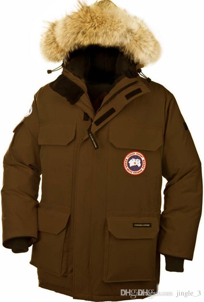 Für Gänse Casual Verdicken Winter Männer Mode Jacke Wintermantel Von Verdickung Daunenjacke Marke Warme Großhandel Komfortable Kanada wPyv8OmN0n