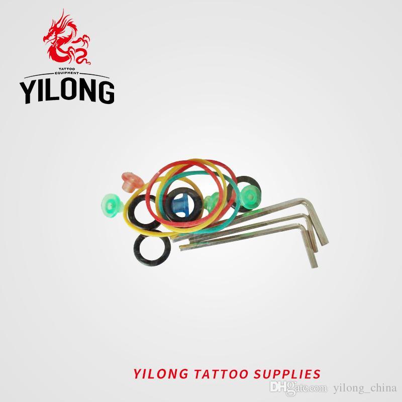 YILONG Wholesales 20 PC의 / 세트 문신 기계 문신 BodyArt에 대한 조정 문신 액세서리 세트 무료 배송
