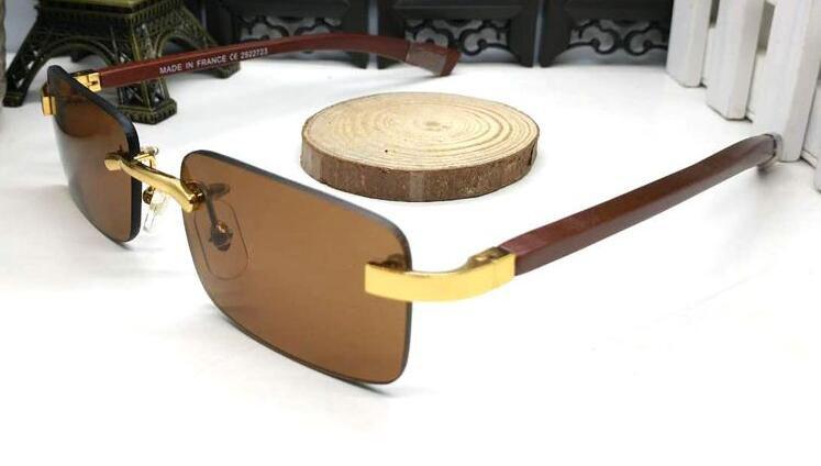 lunettes corne Livraison gratuite Buffalo Lunettes de soleil sans monture bois Lunettes de sport Lunettes de soleil sans monture Sculpté bois unisexe Lunettes Gafas de sol