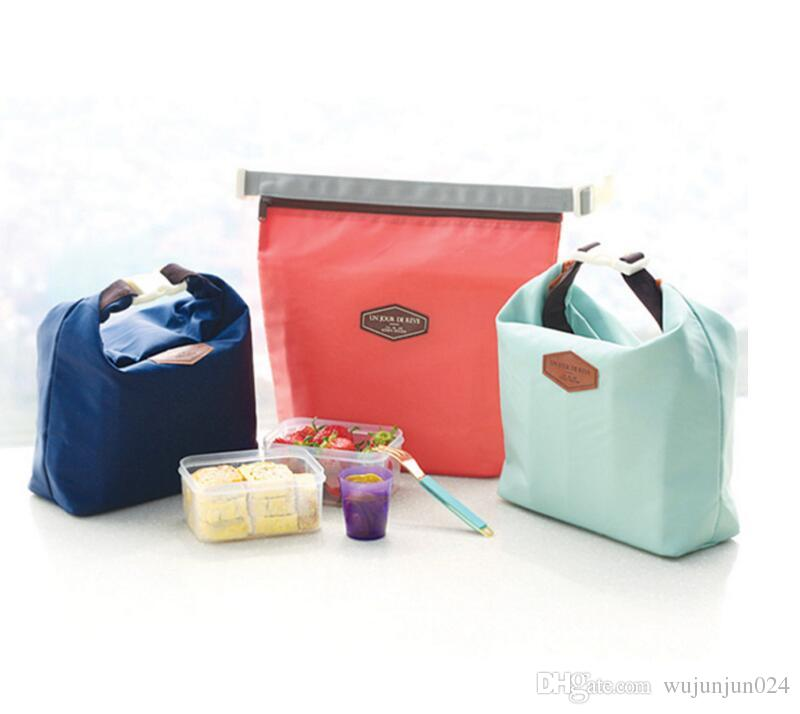 New Folding Lunch Fresh Keeping Cooler Bag Fruit Seafood Steak Hot Cold Thermal Insulation bag Ice Pack Picnic Food bag