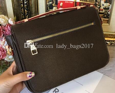 Borsa da borse da borse da stampa borse da borse da donna Messenger Crossbody Flowers Borsets M40780 Pochette Spalla in pelle classica OGXPT