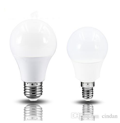 2018 E14 LED lamp E27 led bulb AC 220V 230V 240V 15W 12W 9W 6W 3W Lampada LEDs Spotlight Table lamp Lamps light