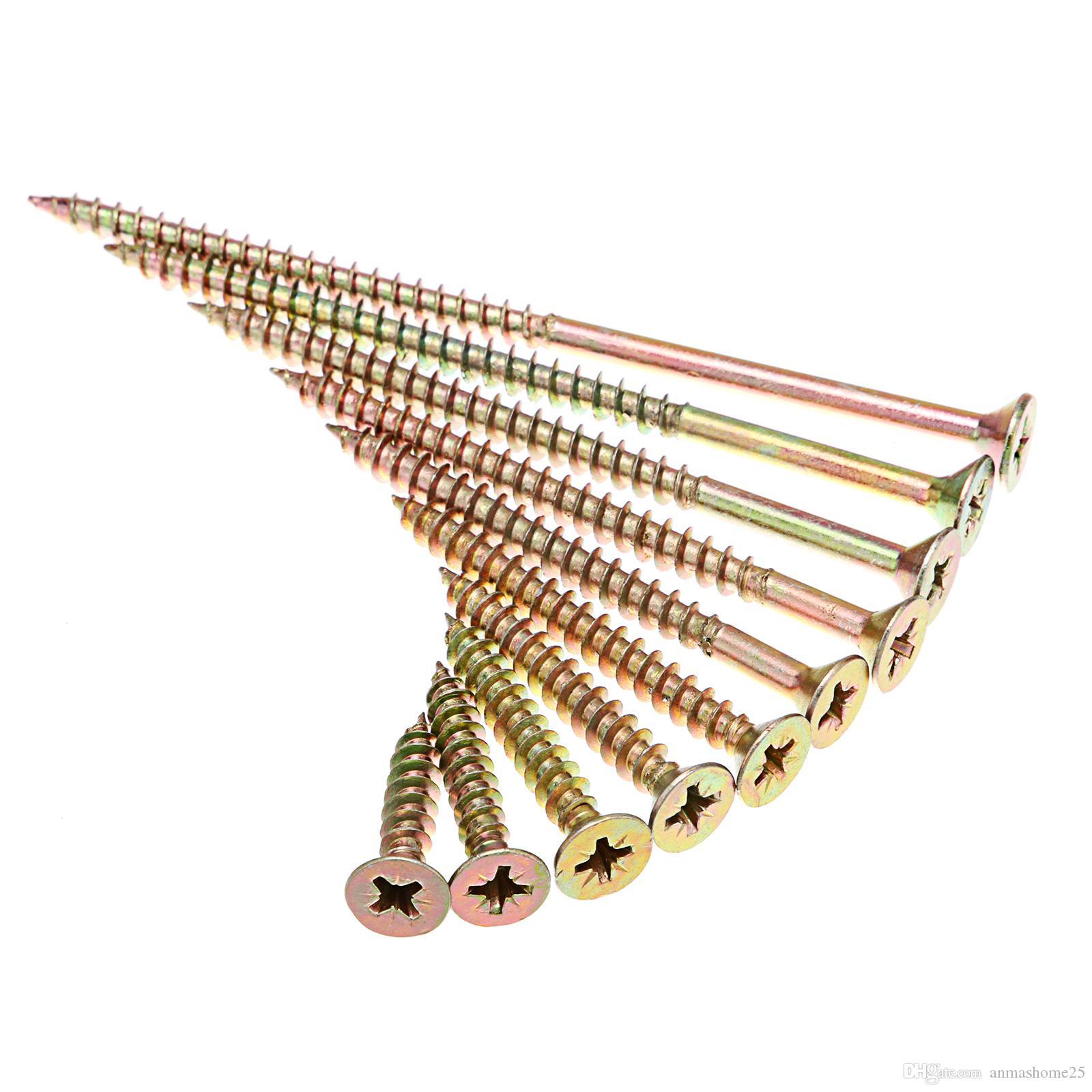 Viti per legno professionali M5 per legno Viti per viti a testa svasata zinco Philips, dimensioni da 25 mm a 100 mm scegliere
