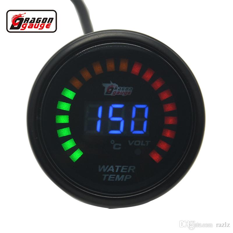 Thermometer Digital Temperature Meter Gauge 50℃~150℃ With Probe Power 9-12V MZ