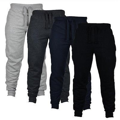 Men's Casual Sweat Pants Jogger Harem Trousers Slacks Wear Drawstring Y1892503