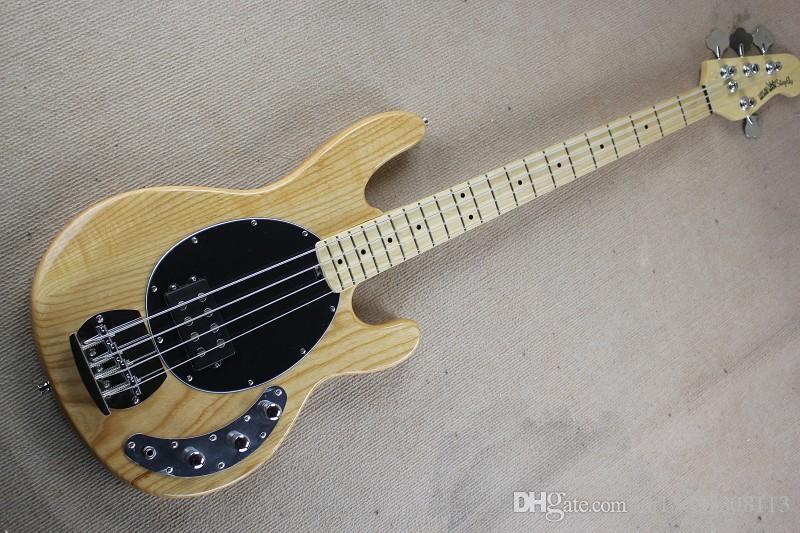 M StingRay baixo elétrico quatro - corda de cinco cordas de madeira crua corpo xilofone cor