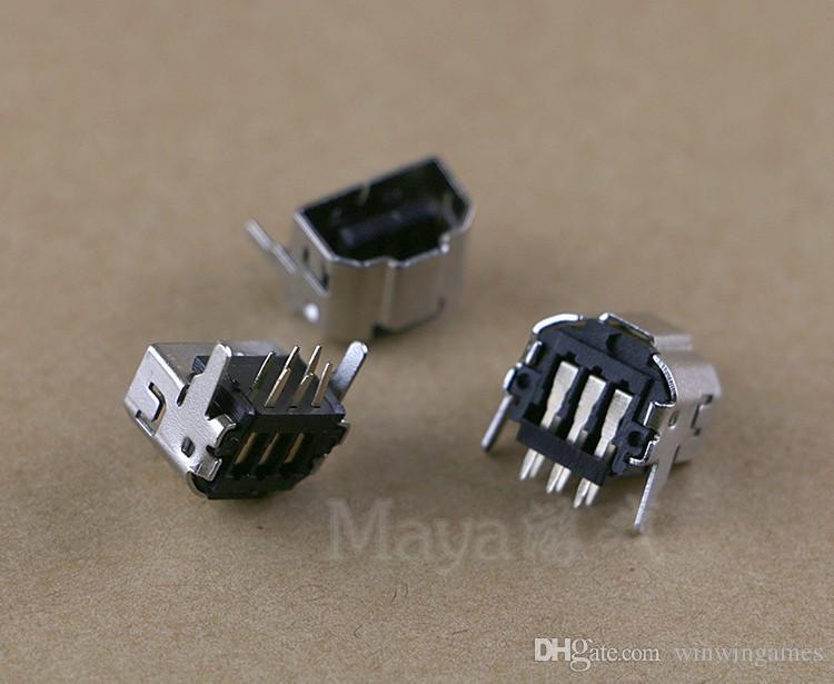50 piezas para N DS GBA GBA SP Toma de corriente Jack Puerto de carga