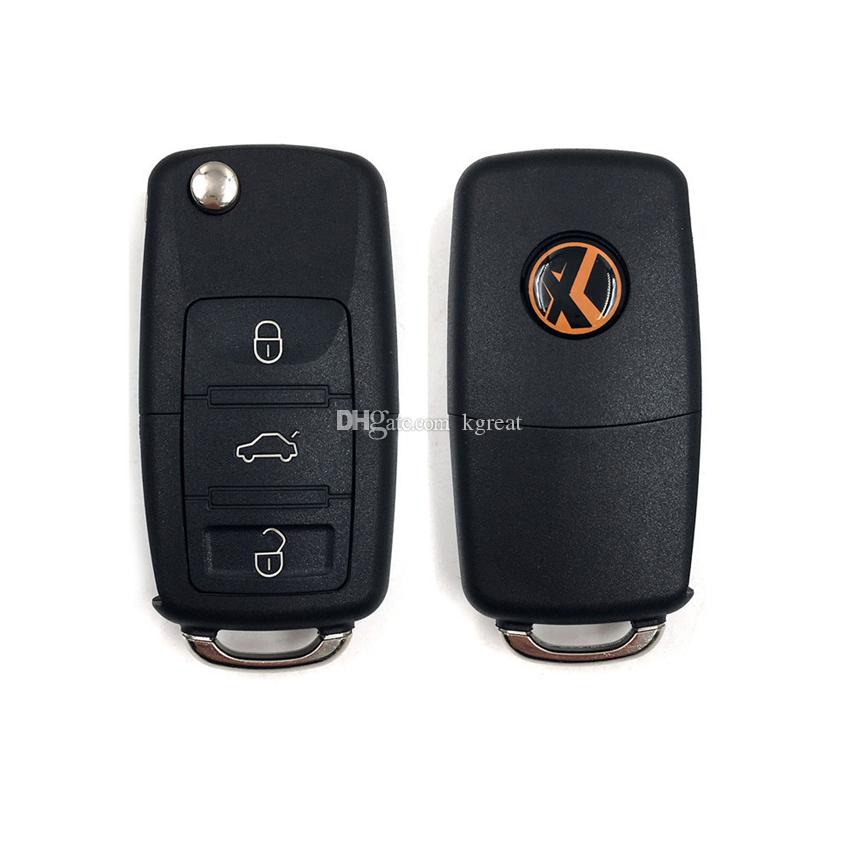 XHORSE 3 przyciski do VW Volkswagen B5 Universal Remote Blue dla narzędzia VVDI